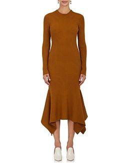 Ribbed Wool Midi