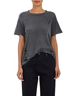 Moore Cotton Stretch-jersey T
