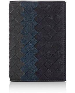 Intrecciato Folding Card Case
