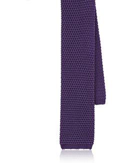 Crochet Silk Grenadine Necktie