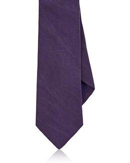 Sueded Silk Necktie