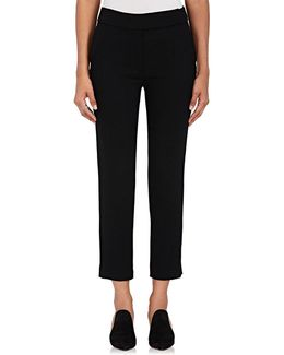 Audrey Wool Crepe Trousers