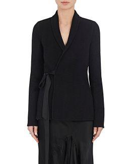 Cashmere Flannel Wrap Jacket