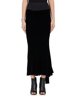 Velvet Long Skirt