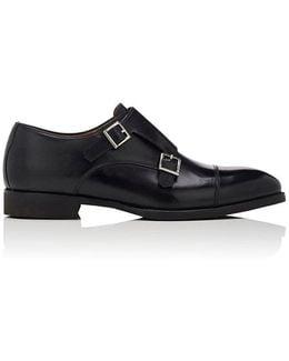 Cap-toe Leather Double-monk