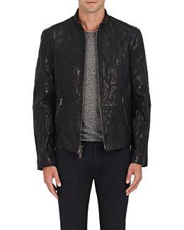 Wrinkled Leather Jacket