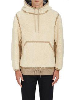 Fleece Hooded Pullover