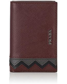 Zigzag Folding Card Case