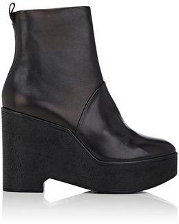 Bisouto Leather Ankle Boots