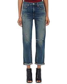 Kennedy Distressed Boyfriend Jeans