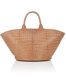 To Go Alligator Tote Bag