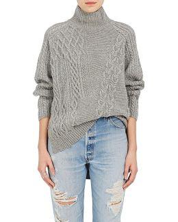 Mixed-stitch Wool