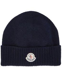 Logo Virgin Wool Beanie