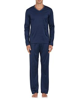 Bari Cotton Jersey Pajama Set