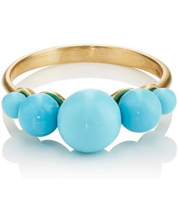Turquoise Sphere Ring