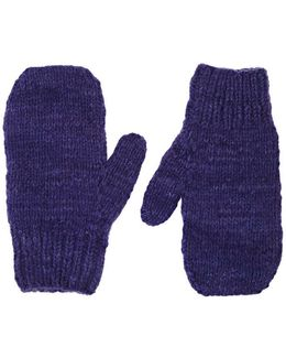 Brushed Cashmere Mittens
