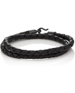 Braided Leather Double