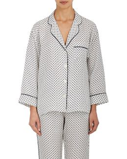 Marina Silk Pajama Shirt