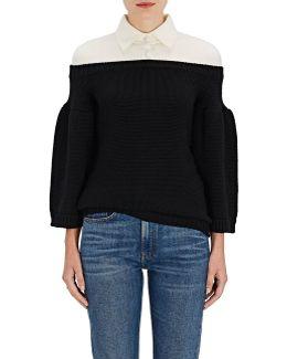 Wool Off-the-shoulder
