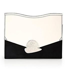 Curl Medium Clutch Bag