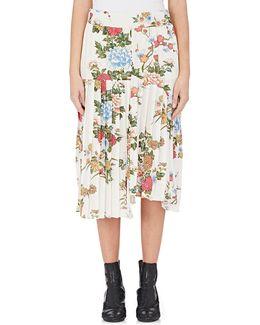Inaya Floral Silk Midi