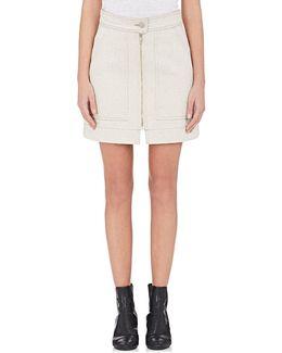 Penelope Denim Miniskirt