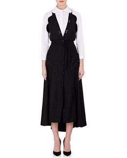 Wool Halter Gown
