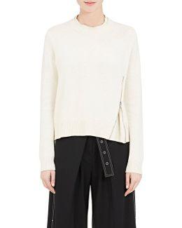 Side-zip Wool-silk