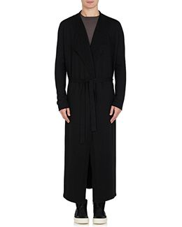 Cashmere Long Robe Sweater