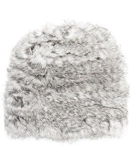 Fur Slouchy Hat