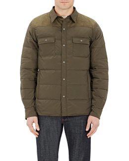 Clint Shirt Down Jacket