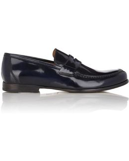 Spazzolato James Penny Loafers