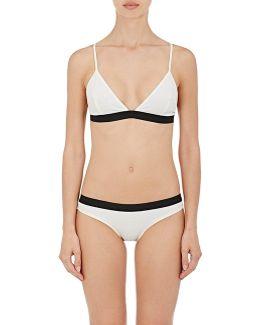 The Garine Triangle Bikini Top