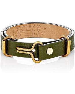 Narrow Visor Cuff Bracelet