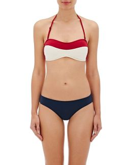 Lily Convertible Bandeau Bikini Top