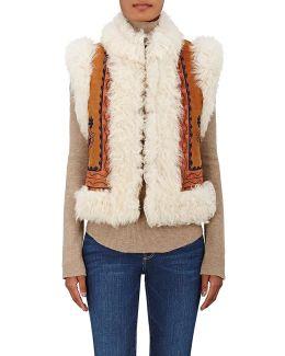 Wren Reversible Shearling Vest