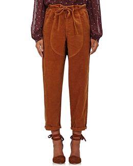 Sabi Cotton Moleskin Pants