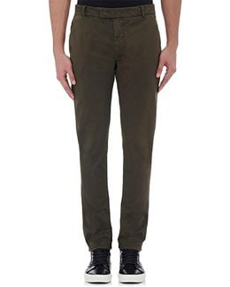 Brooks Slim Cotton Trousers