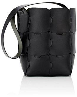 16#01 Hobo Medium Leather Bucket Bag
