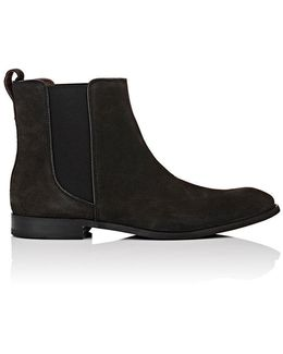 Star Suede Chelsea Boots