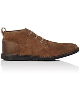 Star B Suede Chukka Boots