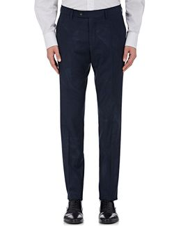 Austin Virgin Wool Flannel Trousers