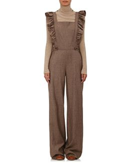 Agata Checked Flannel Jumpsuit