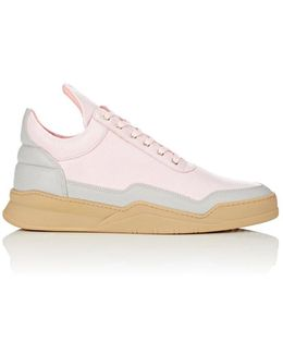 Bny Sole Series: Leather Low Top Sneakers