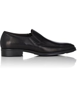Pitto Nappa Leather Venetian Loafers
