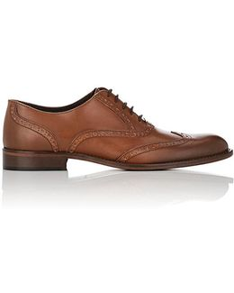 Alvar Leather Wingtip Balmorals