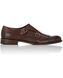 Alfanzo Leather Double-monk