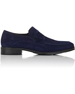 Primo Suede Penny Loafers