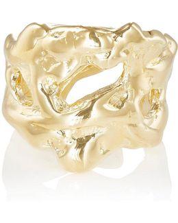 Xl Molten Cuff Ring