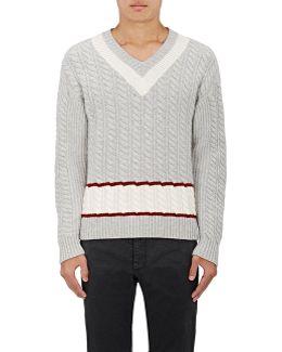 Striped Wool V